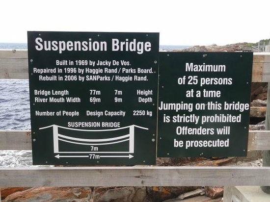 Storms River Suspension Bridge: Everything you wanted to know about the suspension bridge!