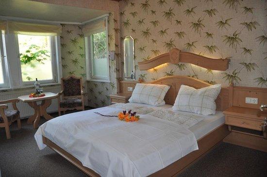 Hotel Glueck Auf: Doppelzimmer Hotel Garni Glück Auf Bad Grund