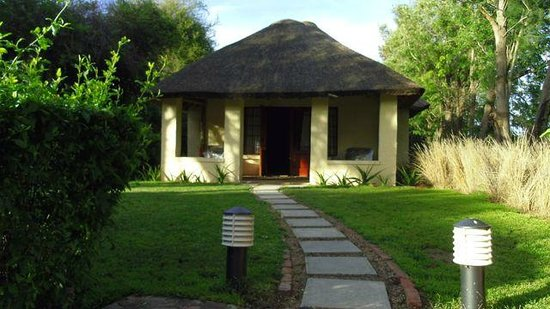 The Elephant House: The 'older' or more traditional style standalone huts