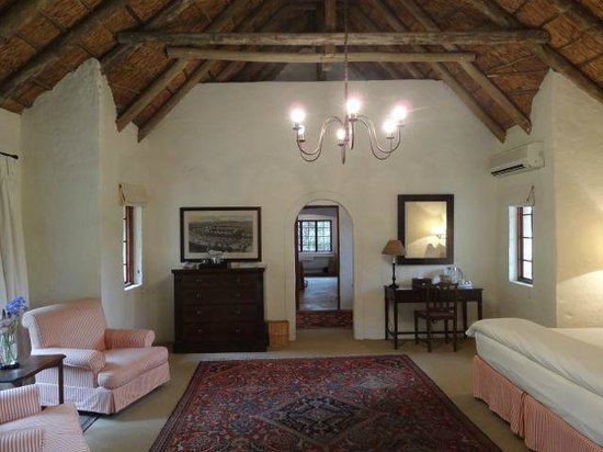 The Elephant House: The main living room/area in the older or traditional style hut.