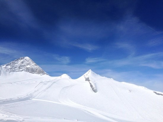 Hintertuxer Gletscher: Вид с верхней точки курорта.