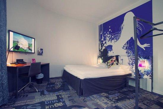 Comfort Hotel Boersparken: Family room bed 1