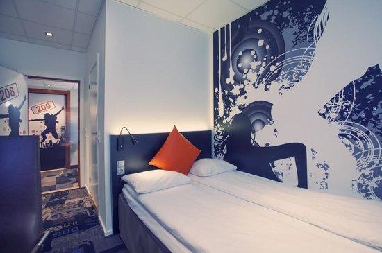 Comfort Hotel Boersparken: Moderate room
