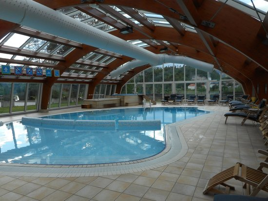 Kompas Hotel Bled - Swimming Pool, looks nice, but.....