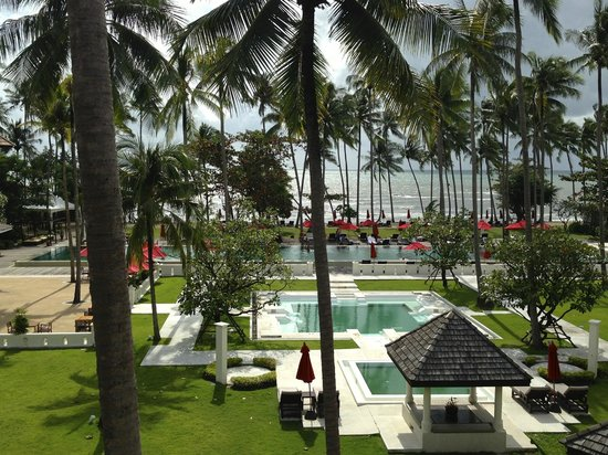 The Emerald Cove Koh Chang : Вид из номера - бассейн и океан)))