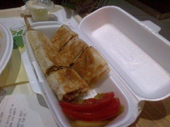 Extreme Shawarma: actual item