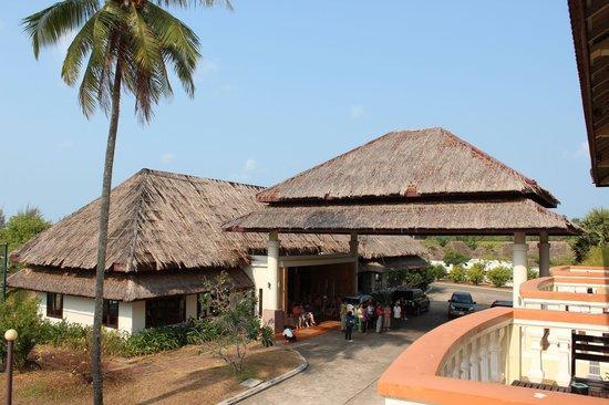 Sokha Beach Resort: Asia Bushalteplatz