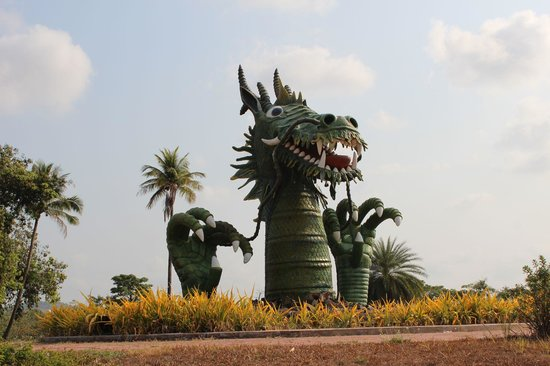 Sokha Beach Resort: Drache
