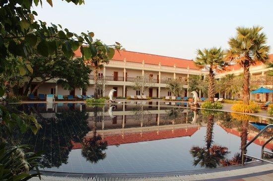Sokha Beach Resort : Pool Asia Teil