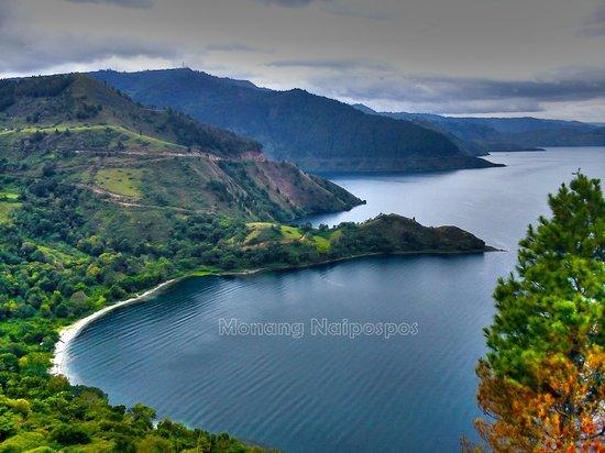 North Sumatra, Indonesia: Memandang Danau dari Balige