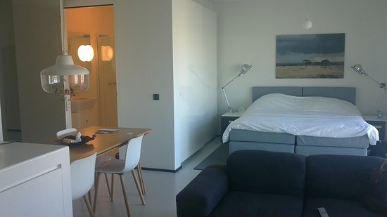 Urban Residences Rotterdam : Vue de l'intérieur appartement de base