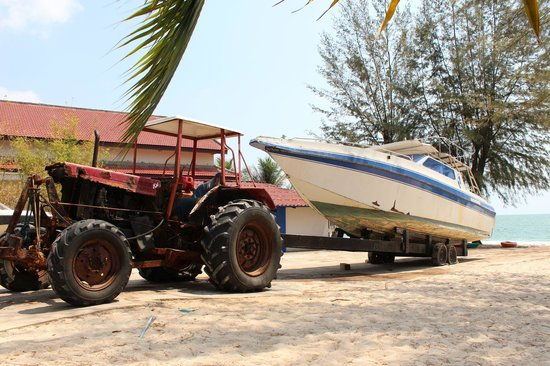 Sokha Beach Resort: Yachttransport
