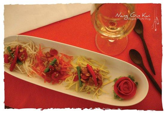 Nang Gin Kui - Bangkok Private Dining: Som Tam