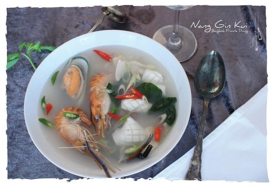 Nang Gin Kui - Bangkok Private Dining: Tom Yam Seafood