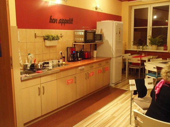 Premium Hostel: cuisine commune