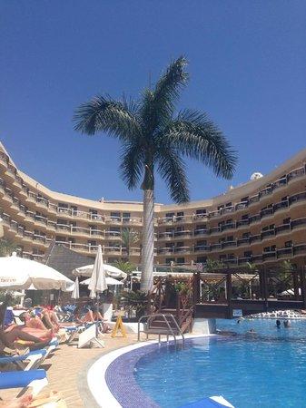 Dream Hotel Noelia Sur: Hotellet set fra min solvogn