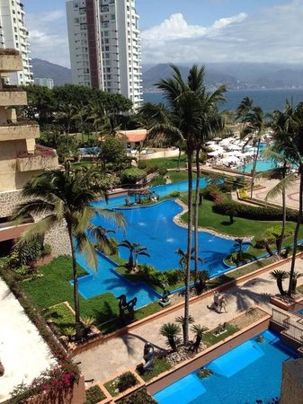 CasaMagna Marriott Puerto Vallarta Resort & Spa : The view from our room