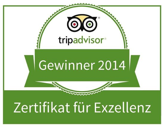 Oliveto: Tripadvisor Award - Exzellenz 2014