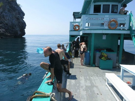 Chaloklum Diving