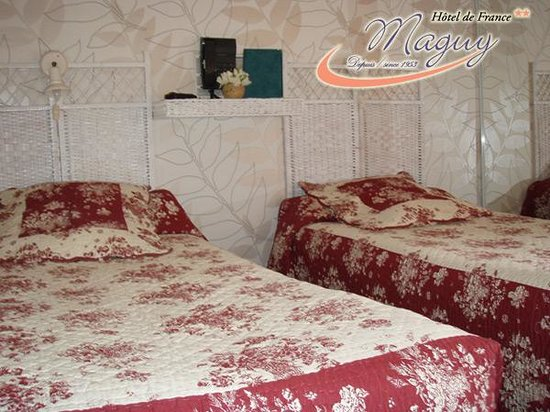 Hotel de France Maguy: Chambre twin