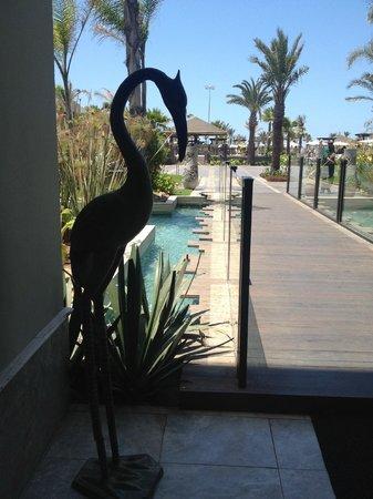 Hotel Riu Palace Tikida Agadir: Way to the Pool