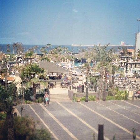 Hotel Riu Palace Tikida Agadir: Pool View in Morning