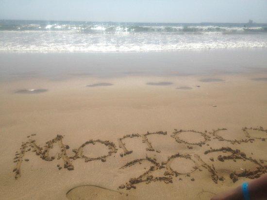 Hotel Riu Palace Tikida Agadir : Beach