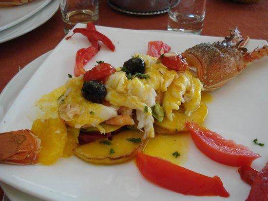 Hotel Neptune : Salade de langouste
