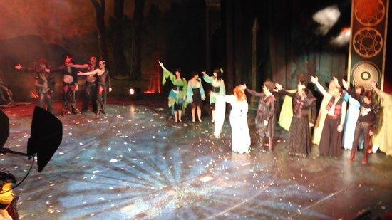 Budapest Operetta Theatre: поклон