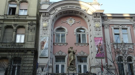 Budapest Operetta Theatre: здание оперетты