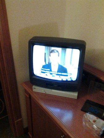 Villa Vecchia Hotel: 80's technology