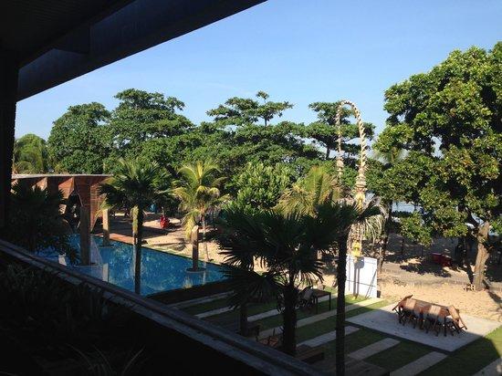 Grand Inna Kuta : View from Breakfast