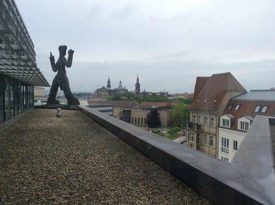 art'otel dresden: Вид на город