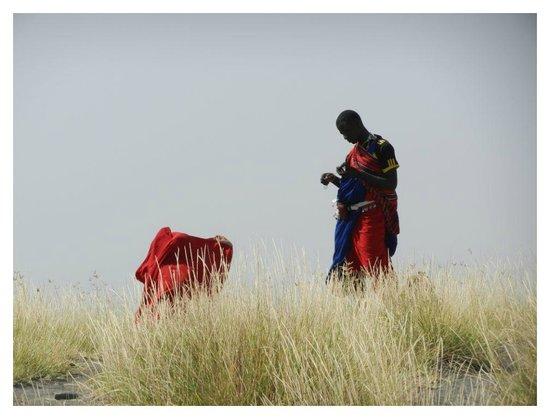 Duma Explorer - Day Tours: Maasai guide on Duma Explorer hike