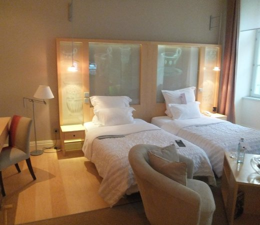 Le Meridien Vienna: room