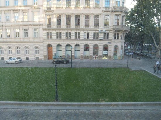 Le Meridien Vienna: the scene from the room