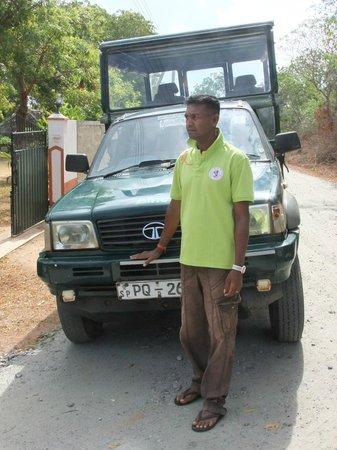 JC Guesthouse : Op safari met de broer van Champa