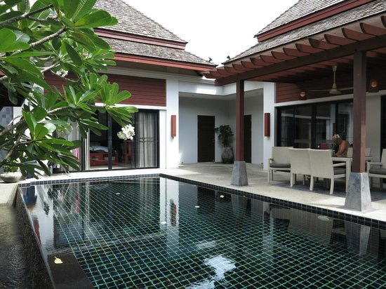 The Bell Pool Villa Resort Phuket: Private plunge pool