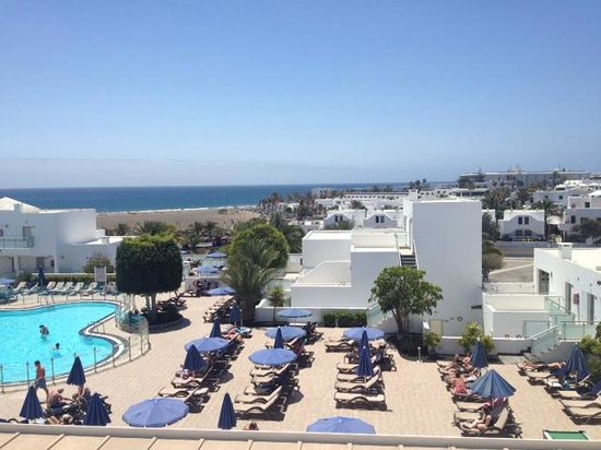 Hotel Lanzarote Village: View from the window