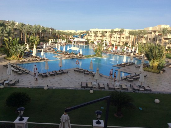 Rixos Sharm El Sheikh: View from new reception
