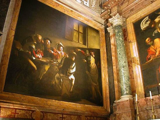 Church of St. Louis of the French: Caravaggio