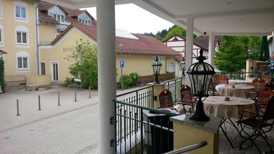 Hotel Dirsch: Eingang