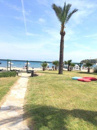 Bodrum Imperial: Beach view