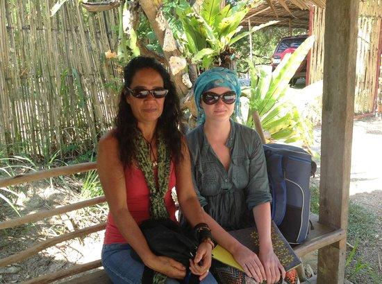 Jungle Beach Resort : Дезире - и на хозяйстве и шеф-повар