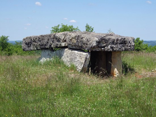 megalithic burial chamber near the green chambre d'hote - picture
