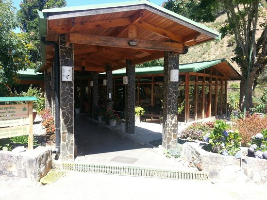 Savegre Hotel, Natural Reserve & Spa: Entry