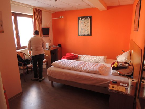 Hotel Albert II : Chambre