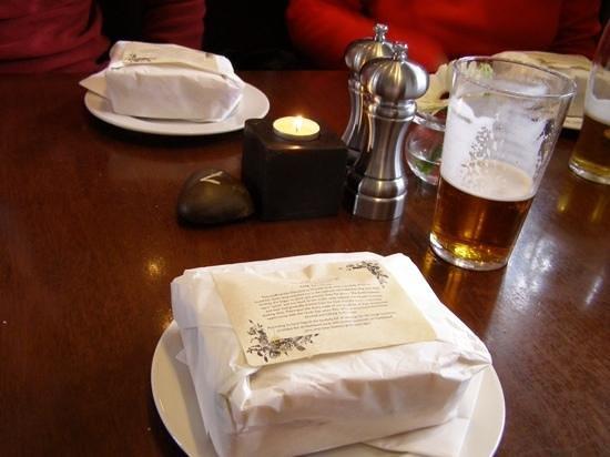 The Drunken Duck Inn: sandwiches for lunch at the Drunken Duck!