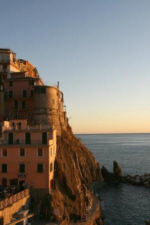 Ca de Gianchi : manarola al tramonto
