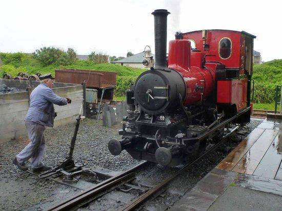 Talyllyn Railway: Douglas at Tywyn